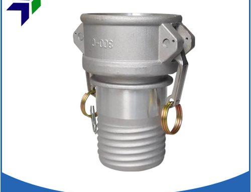 Composite hose coupling